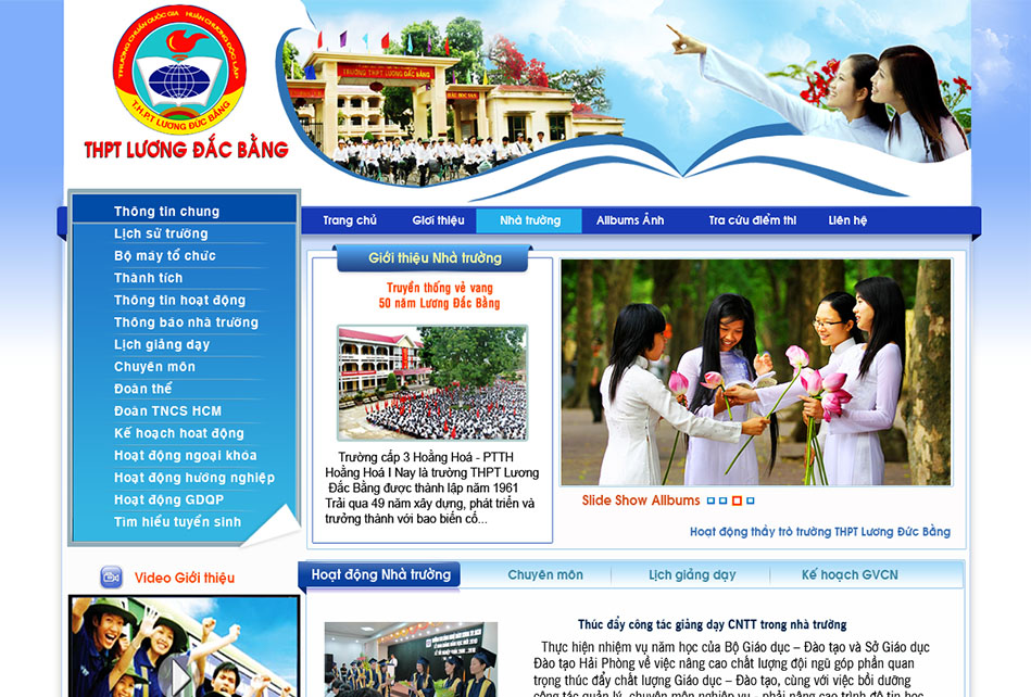 Electronic Portal for Schools